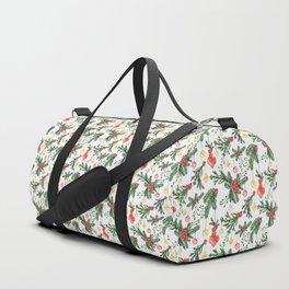 Watercolor Christmas Ornaments Duffle Bag