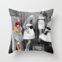Mannequin Throw Pillow