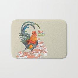 Rooster Bath Mat