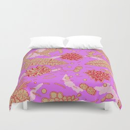 Warm Flower Duvet Cover