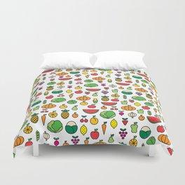 fruits & vegetables Duvet Cover