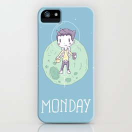 Space Monday iPhone Case