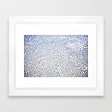 GEOgraphy III Framed Art Print