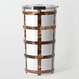 Copper Squares Travel Mug