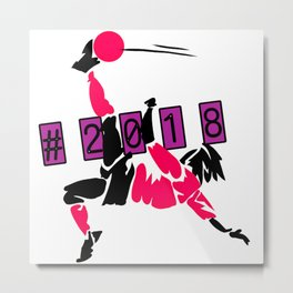 Soccer world cup russia 2018 Metal Print