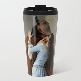 The Kiss (Il Bacio) - Francesco Hayez 1859 Travel Mug