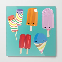 Ice Scream Social Metal Print