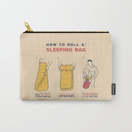 How to roll a sleeping bag Carry-All Pouch