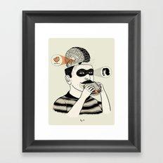 Hipotalamus Framed Art Print
