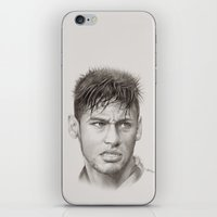 neymar iPhone & iPod Skins featuring Neymar by byhazel