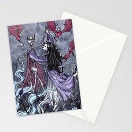 Necromancer's walz Stationery Cards