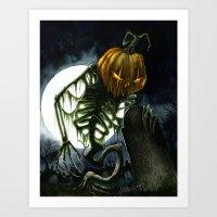 Jack the Reaper Art Print