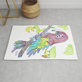Scarlett Macaw Rug