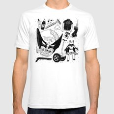 The Wulverine White Mens Fitted Tee SMALL