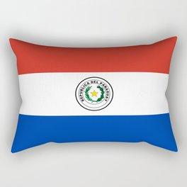 Paraguay Flag Rectangular Pillow