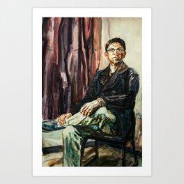 Rudy After Sargent Art Print