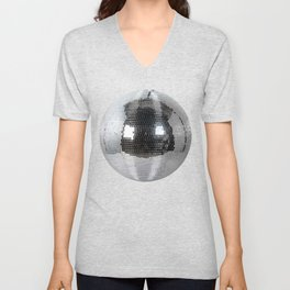 Mirror ball Unisex V-Neck