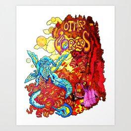 Other Worlds III Art Print