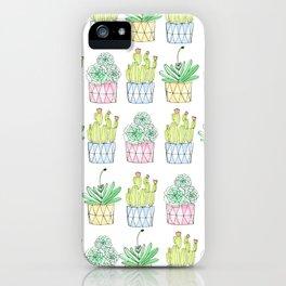 Succulent Trio iPhone Case