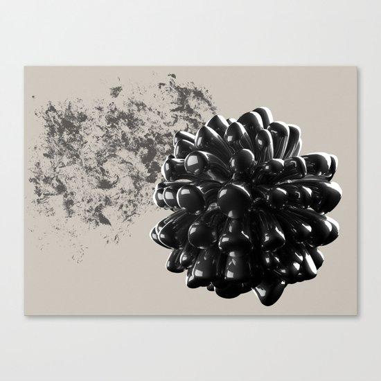 Graphite Canvas Print
