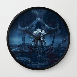 Planet of Doom Wall Clock