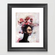 Jet Lag Framed Art Print