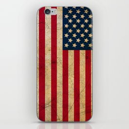 Vintage American Flag iPhone Skin