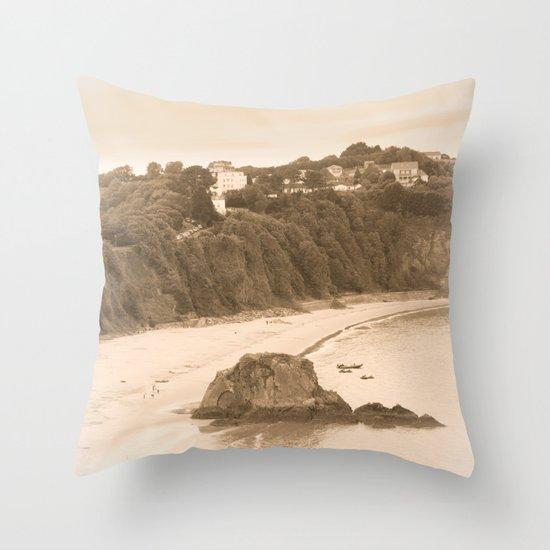 older times Throw Pillow