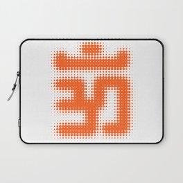 Aum Orange Laptop Sleeve