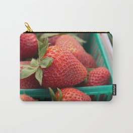 Strawberries at the Farmers Market Carry-All Pouch