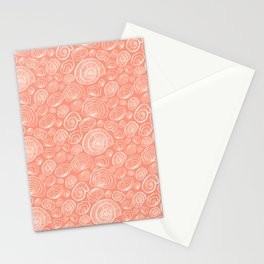 Nautilus pattern Stationery Cards