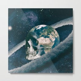 The Old Traveller Metal Print