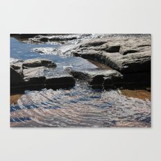 Trickle on Down Canvas Print