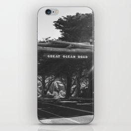 Great Ocean Road VI iPhone Skin
