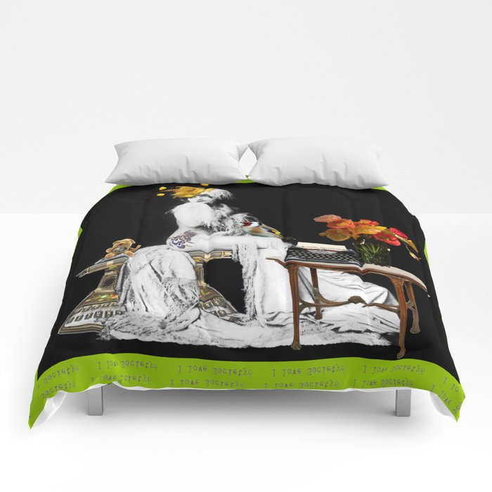 Letter to Society6 Comforters