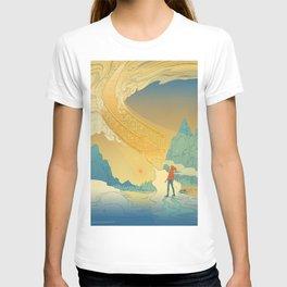 Golden Staircase T-shirt