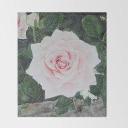Katie's Rose Throw Blanket