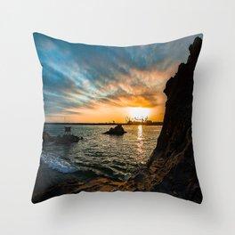 Simple Sunday - Pirates Cove Throw Pillow