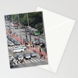 Paulista Avenue, São Paulo / Brazil Stationery Cards