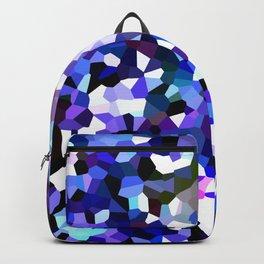 Ultra Violet Purple Blue Gems Backpack