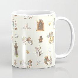 The Holy Grail Pattern Coffee Mug