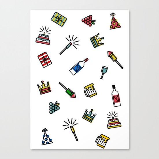Icons Canvas Print