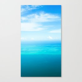 Sky and Sea. Canvas Print