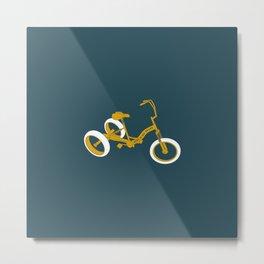 tricycle 01 Metal Print