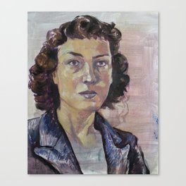 Philippa Foot Canvas Print