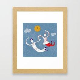 time to love Framed Art Print