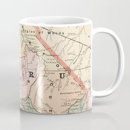 Vintage Map of Peru (1901) Coffee Mug
