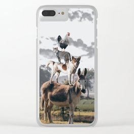 """The """"Town Musicians of Bremen"""" Clear iPhone Case"""