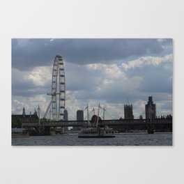 The Eye Over the Thames Canvas Print