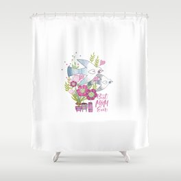 Best Mom Ever Shower Curtain
